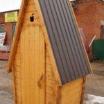 Деревянный Туалет 1